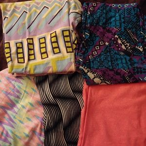 5 Pairs of TC LuLaRoe Leggings